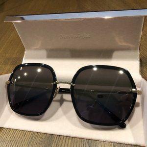 Brand New-Garrett Leight 12K WhiteGold Sunglasses